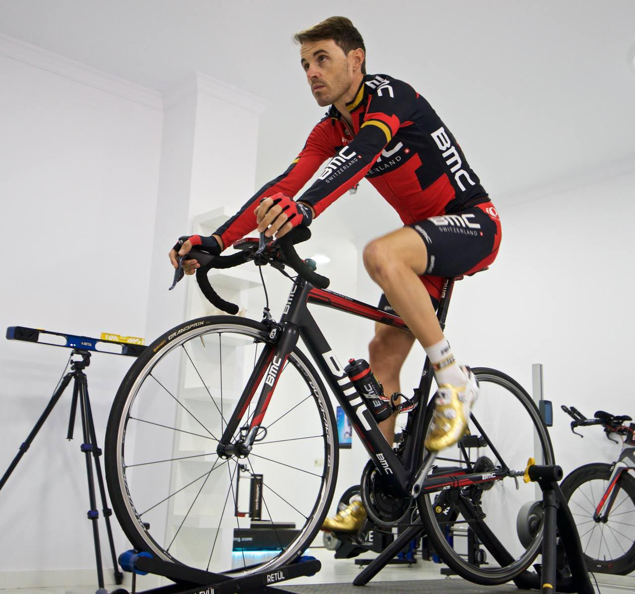 Bike Fitting Samuel Sanchez